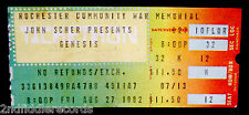 GENESIS-Rare Original August 27 1982 Concert Ticket-Rochester, NY-PHIL COLLINS