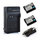 2200mAh EN-EL15 ENEL15 Battery / Charger for NikonD600 D800 D800E D7000/V1