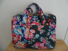 VERA BRADLEY Iconic Hanging Organizer Travel Cosmetic Bag in Pretty Posies