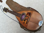 Nicely  old mandolin MoP inlays