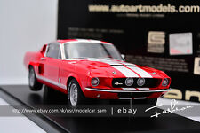 AutoArt 1:18 ford mustang SHELBY GT500 red