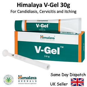 V-GEL 30gm Himalaya Tubes Ayurvedic Herbal - Vagina Gel for Infections