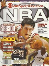 CBS Sportsline.com NBA 2006 - 07 Season Preview Fantasy Hoops Magazine **READ**