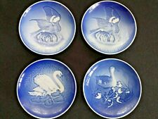 Four Vintage Bing & Grondahl Mother'S Day Plates Two 1970, 1976 & 1978 Exc. Cond