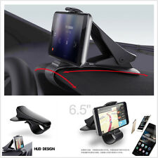 Adjustable Car Dashboard Holder Stand Clamp Clip HUD Design for Smart Phone GPS