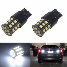 JDM ASTAR 2x 7443 7440 White 2835 33-SMD LED Brake Tail Turn Signal Lights Bulbs