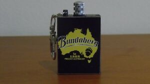 Bundaberg Rum Custom Bundy Match Survival Flint Cigarette Lighter Gift Camping