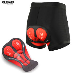 Men Cycling Underwear Padded Shorts Bicycle MTB Shorts Riding Sport Under Pants