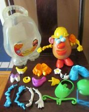 Mr. Potato Head Silly Suitcase Lot w/ 27 Pieces