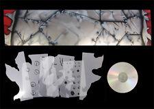 Airbrush Schablonen Set Nietendesign mit Aufriß