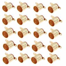 US 20pcs E10 Copper Light Bulb Screw Base Socket Lamp Holder Electronic Set