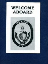 Ffg 31 Uss Stark Welcome Aboard Booklet Us Navy Ship Squadron Pamphlet