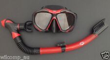 Snorkelling Diving Liquid Silicone Set WIL-DS-52 with Dry Snorkel and Mask Set