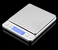 2000g x 0.1g Pocket Mini Digital LCD Display Gold Jewellery Weighing Scales 2kg