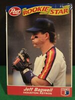 1992 MLB POST ROOKIE STARS JEFF BAGWELL ROOKIE ON TOP SET OF 30 CARDS