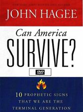 Can America Survive Series 10 Prophetic Signs -6 Dvds - John Hagee - Sale Rare !