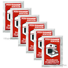 Puly / Puly Caff Cleaner Descaler Espresso Machine Cleaner 6 - 30 Gram Packets