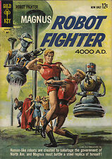 Gold Key MAGNUS ROBOT FIGHTER #2 May, 1963