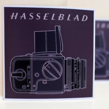 """Square Picture Hasselblad 503cw Vintage Film Camera 4"""" Decal Sticker #3137"""