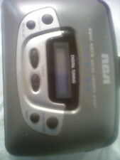 Rca Digital Am/Fm Stereo Radio Cassette Player Rp-1872A Works