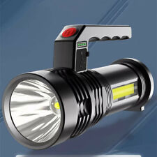 Super-Bright 60000LM LED Tactical Flashlight With USB Rechargeable Battery