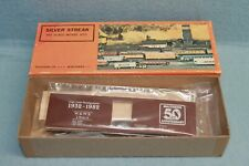 Vintage Walthers/Silver Streak Craftsman Box Car kit-Walthers 50th Anniversary