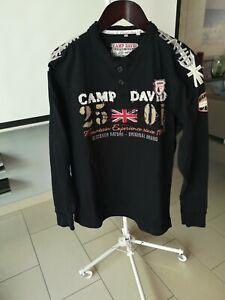 Camp DAVID Herrensweatshirt Gr XXL