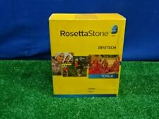 Rosetta Stone Deutsch German Level 1 Software with Digital Download New Sealed