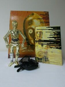 Hasbro 1999 Star Wars Masterpiece Edition C-3PO Tales of the Golden Droid Set