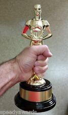 Achievement Trophy - CAST METAL Achiever Figure - Oscar Trophy - Engraved FREE