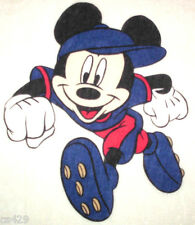 """11.5"""" DISNEY MICKEY MOUSE SPORTS  CHARACTER WALL SAFE FABRIC DECAL CUT OUT"""
