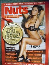 Nuts magazine November 2011 Lucy Pinder Special 400th Issue RARE AND COLLECTABLE