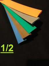 1/2' inch 12.7mm TELCO GROUP 2 heat shrink tubing 2:1 polyolefin (5 FOOT)