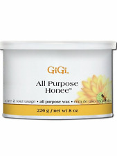 GIGI ALL PURPOSE HONEE WAX / HAIR REMOVER 8 oz