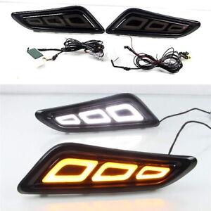 Car Fender LED Side Light DRL Streamer Turn Signal for Nissan Patrol Infiniti QX