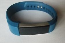 Blue LARGE Fitbit Alta Fitness Activity Tracker - NO POWER - Read Description