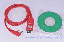 Original WouXun USB Programming Cable for KG-UVD1P KG-UV6D KG-UV8D Radio + CD