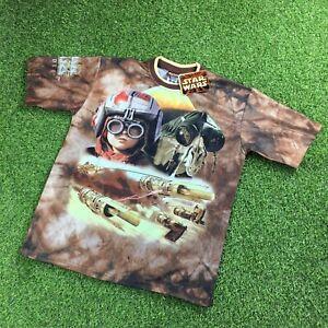 Vintage Star Wars Episode One Pod Racing 1999 90s T Shirt Medium Dead stock RARE