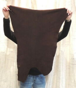 WALNUT DEERSKIN Leather Hide for Native Crafts Buckskins Taxidermy Laces Bags