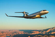 GULFSTREAM G650 AIRCRAFT POSTER PRINT 24x36 HI RES 9 MIL PAPER
