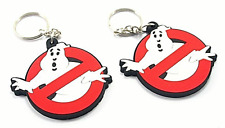 Ghostbusters Logo Rubber Key Chain -Sold Separately
