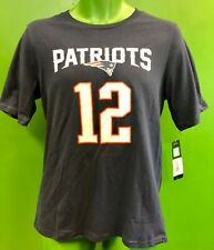 T830/160 NFL New England Patriots Tom Brady #12 Fanatics T-Shirt Youth X-L NWT