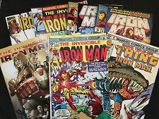 Iron Man 1975 / Issue 500.1 / The Thing / War Machine+ More – 7 Comic Books Set