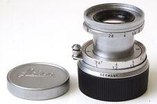 Leica Wetzlar Elmar 1:2.8/50 (50mm f2.8) Monte M Reentrante Cromo Vintage