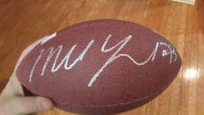 marshal yanda signed football autographed ball baltimore ravens nfl auto proof