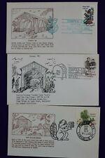 Pompex show cachet lot philatelic souvenir cover Corvalis Oregon Or 1978-1984