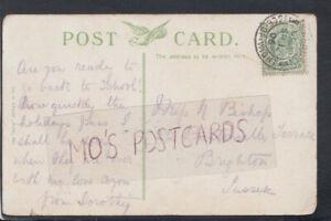 Genealogy Postcard - Bishop - 22 Prestonville Terrace, Brighton, Sussex   RF7266