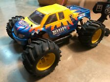 COCHE RC MONSTER TRUCK GASOLINA 4 X 4, ESCALA 1/8 COMPLETO