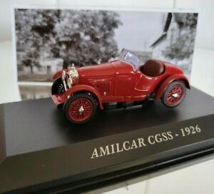 IXO 1:43 Amilcar CGSS 1926 No Norev Minichamps Vitesse Solido