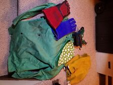 Lot of welding protective gear, Shirt, gloves, cap, goggles, apron. Lightly used